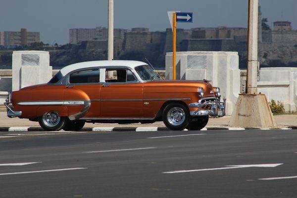 Automobil aus den 50er