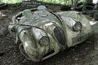 Autoskulpturenpark Neandertal - Jaguar