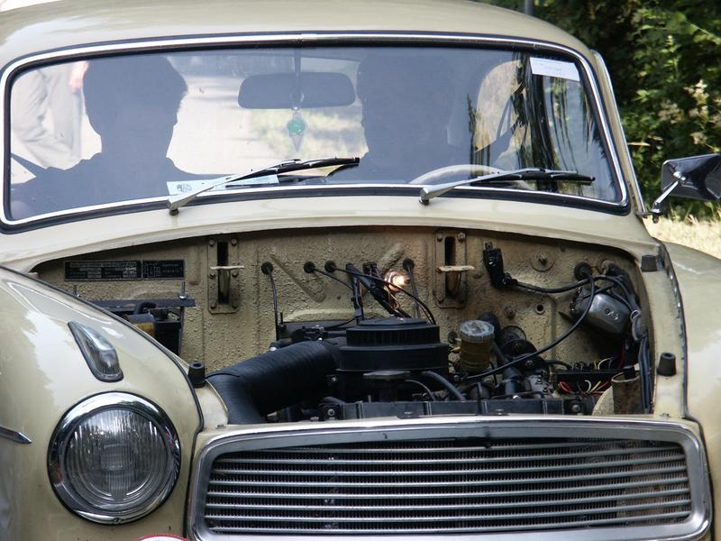 Autotechnik von damals