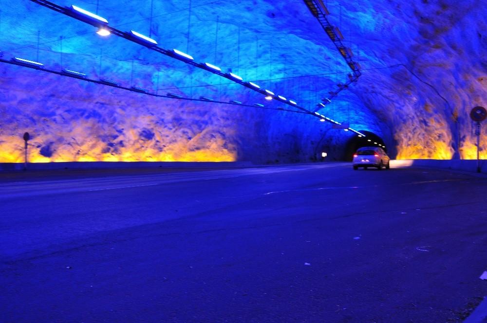 Autotunnel in Norwegen