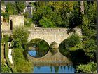 Autre vue Alzette a Luxembourg