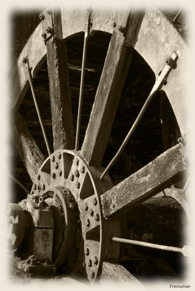 autrefois une roue