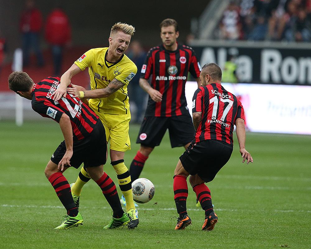 """""""Autsch"""" aus Eintracht Frankfurt - Borussia Dortmund"""