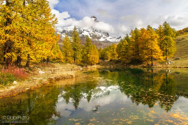 AUTUMN IN MY MOUNTAINS - LAGO BLEU