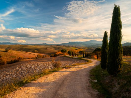 Autumn in val d'Orcia