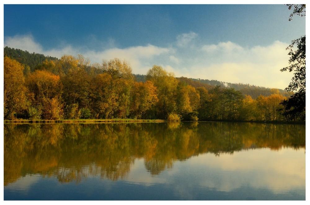 autumn lake story