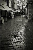 Autumne à Bruxelles II La pluie