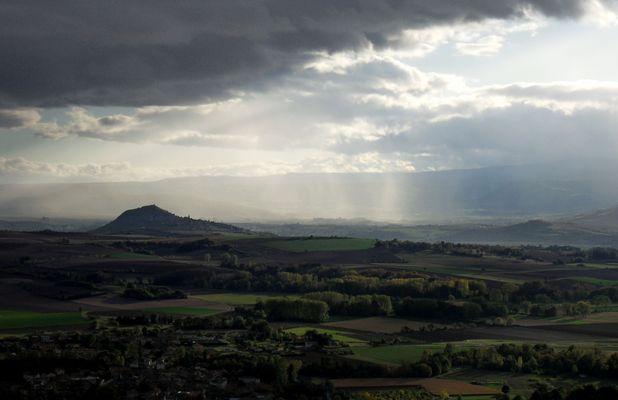 Auvergne, la colline de Nonette