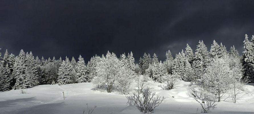 Avant la tempete de neige