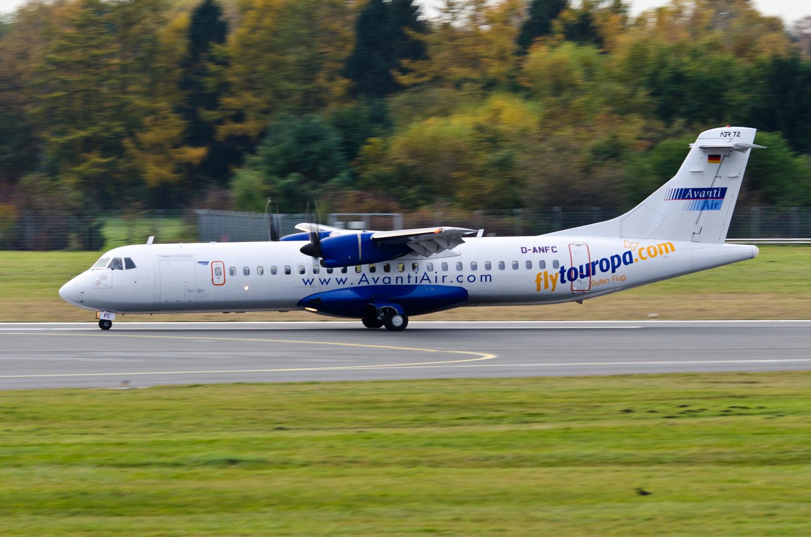 Avanti Air Aerospatiale ATR-72-202