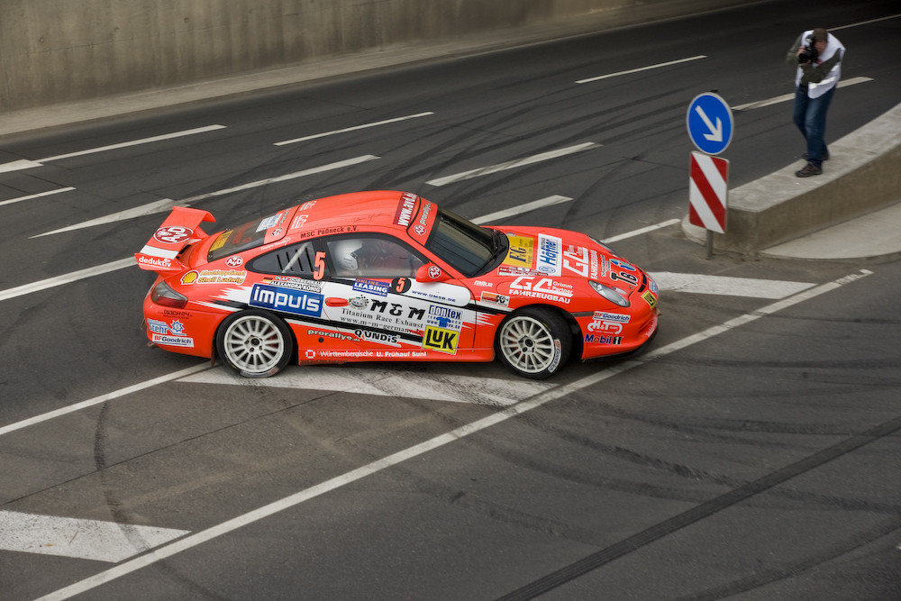 "AVD Sachsen Rallye - WP3 ""Glück Auf Brücke"""
