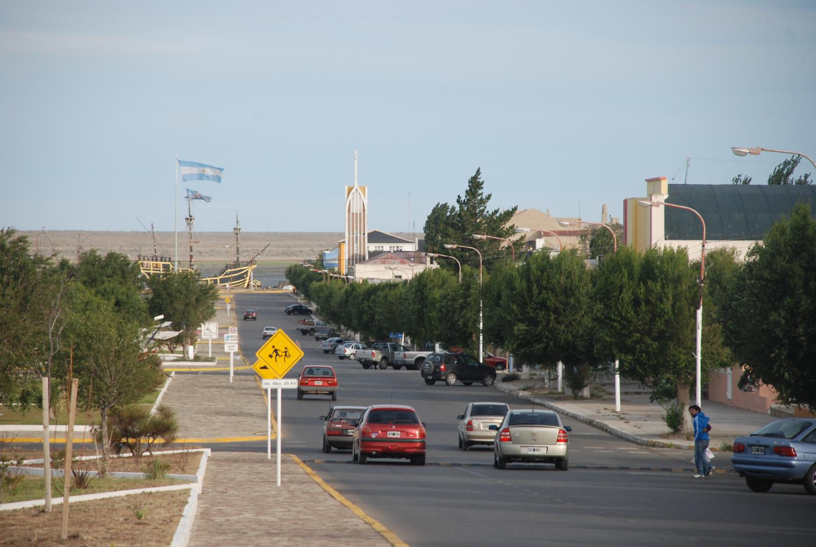 avenida colorida