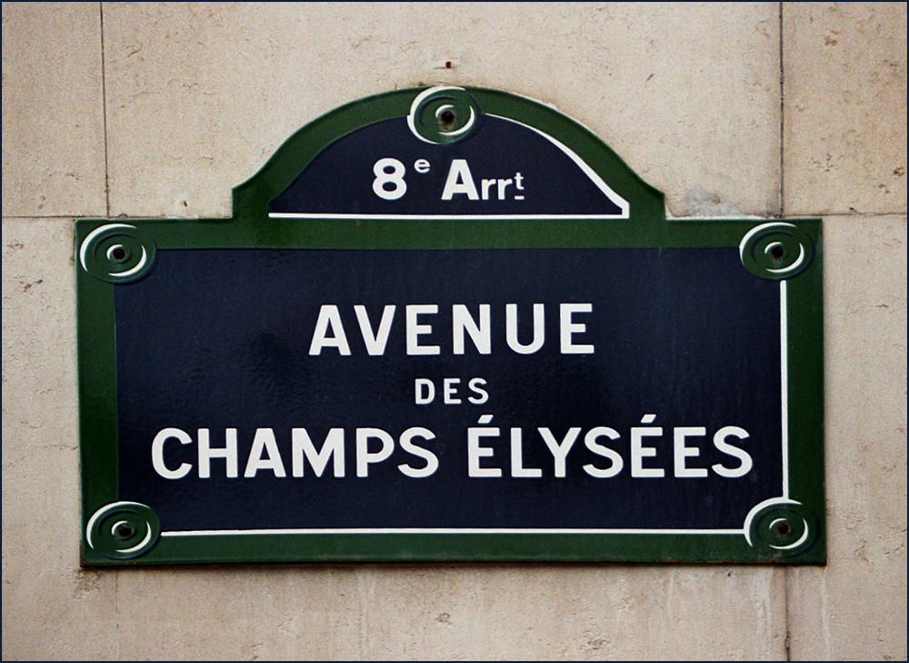 """"""" Avenue des Champs - Elysées """""""