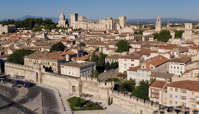 Avignon - Blick vom Riesenrad