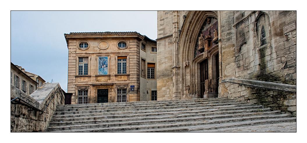 Avignon - einmal nicht der Papstpalast