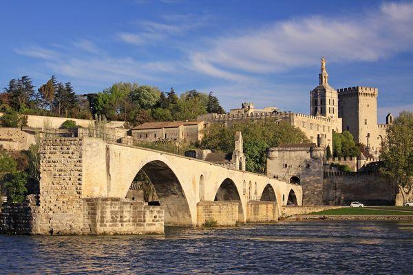 Avignon im April