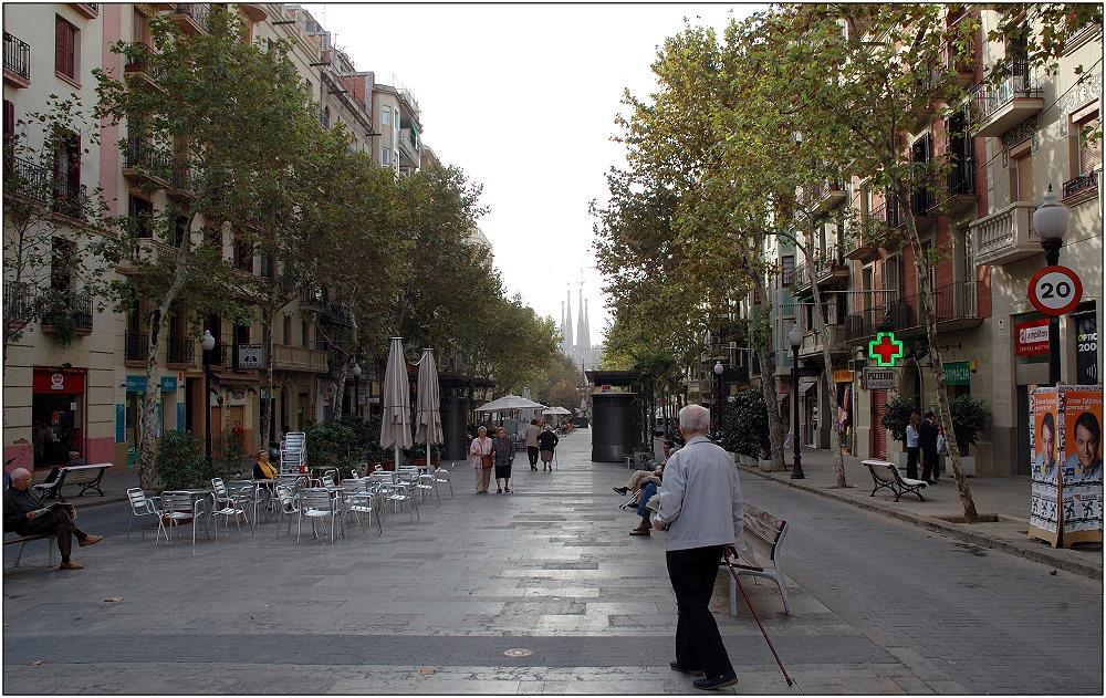 ... Avinguda de Gaudi ...