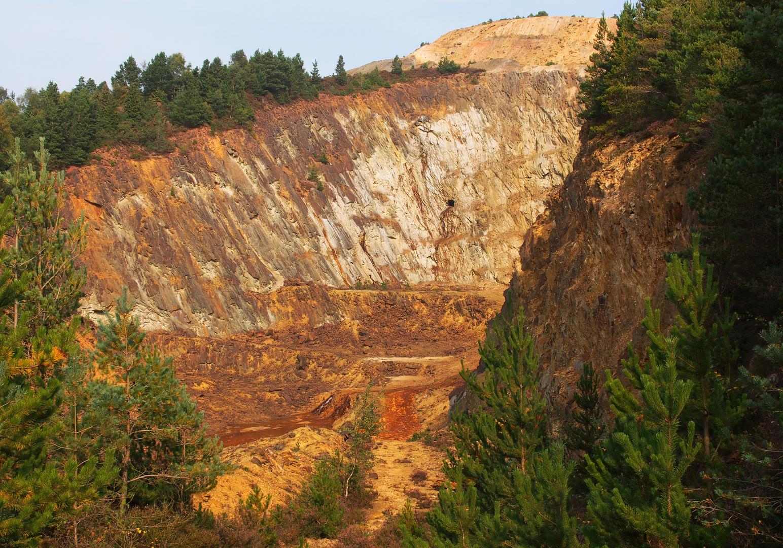 Avoca Mines open pit
