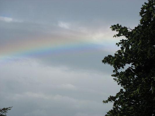 Avoir 18 ans c'est lever la tête et voir un arc-en-ciel, quand on s'y attend le moins.