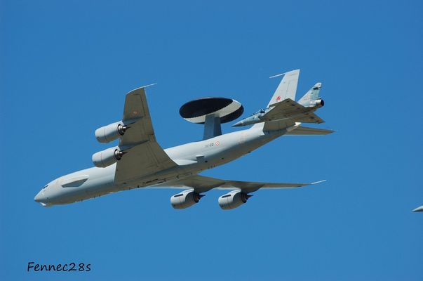 Awacs et Mirage 2000 Orange 18052008