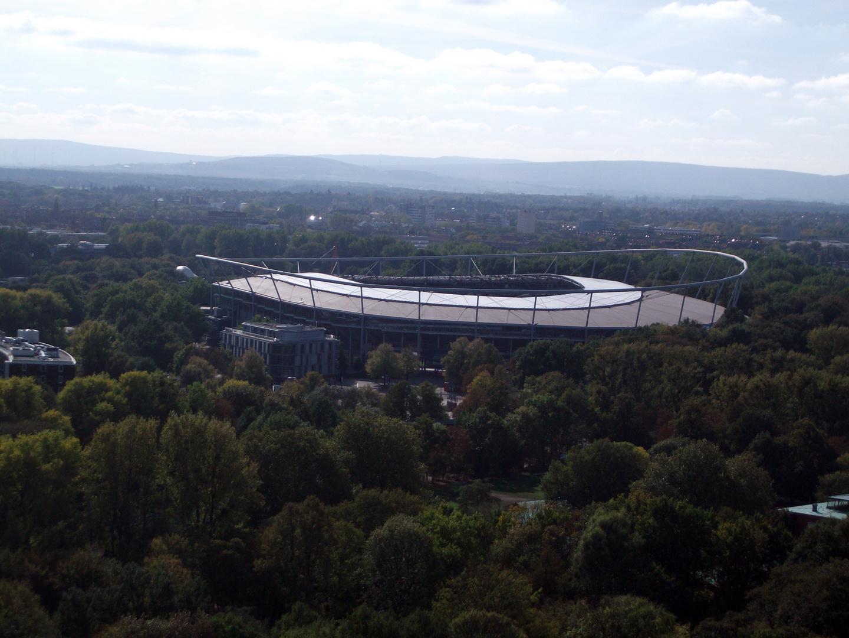 AWD Arena von oben
