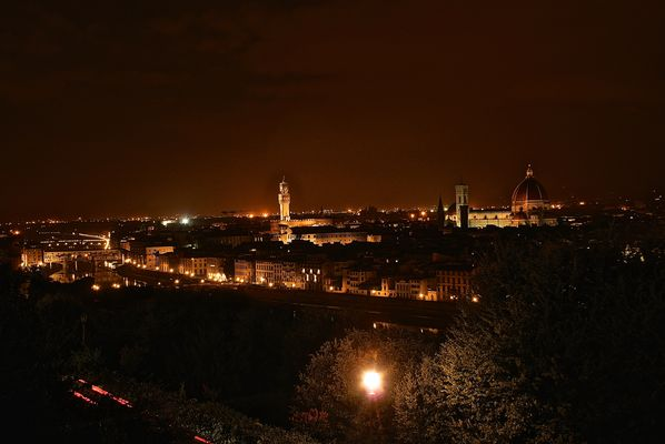 awesome Florence by night