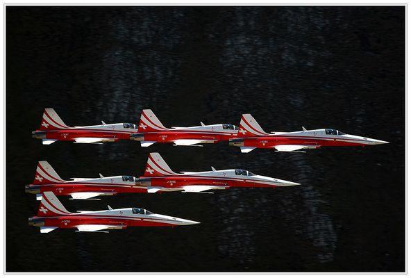 Axalp 2006: Patrouille Suisse III