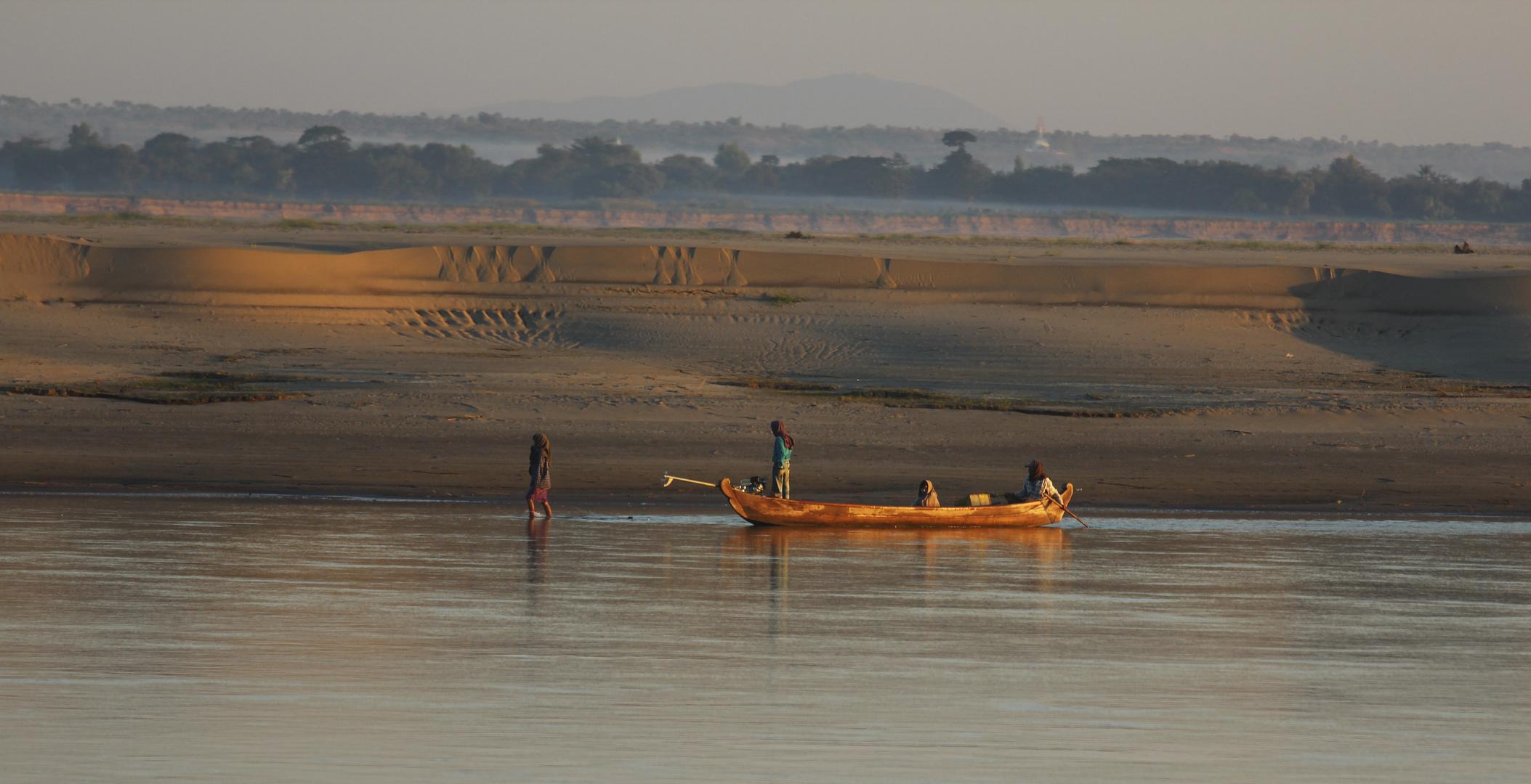 Ayarrwaddy River, Burma