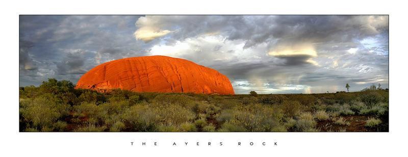 Ayers Rock am Morgen