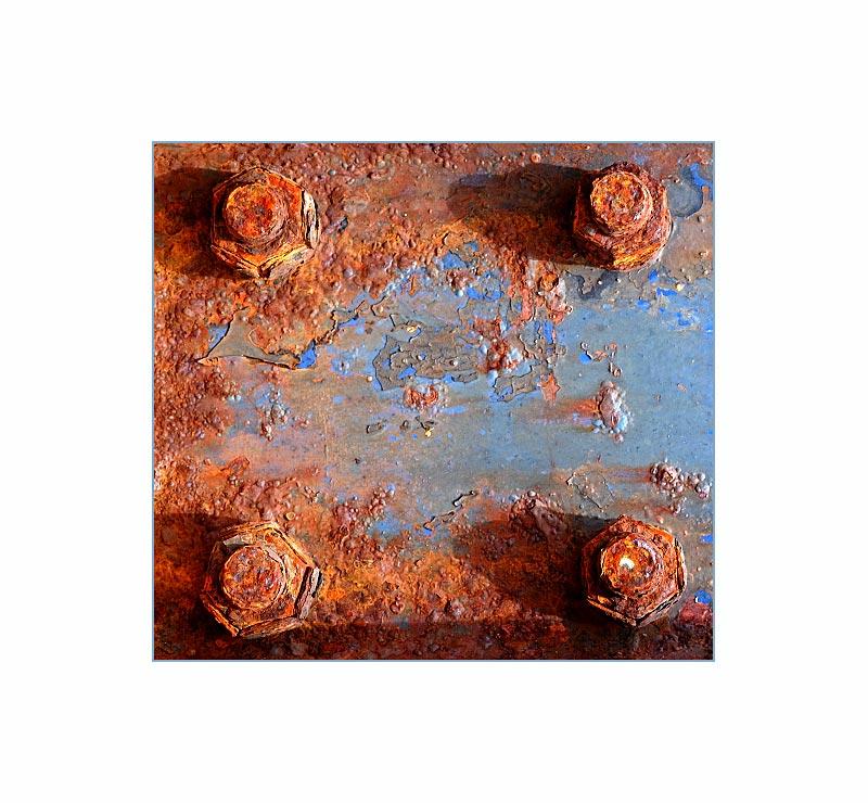 Azoren - Faial - Detail eines alten Krans5