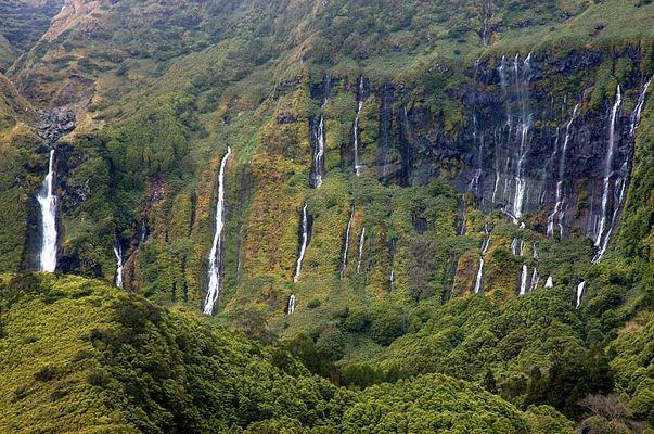 Azoren - Flores - Wasserfälle1