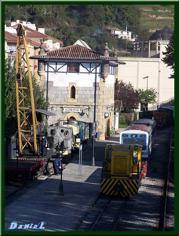 Azpeitia , La Gare
