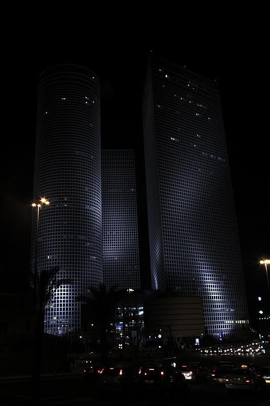 Azrieli night
