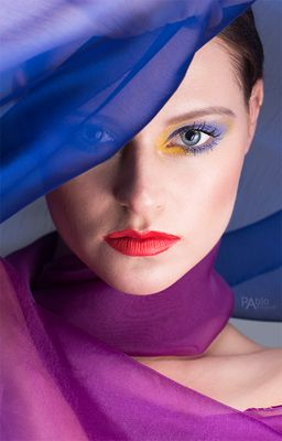 Azul - Ronja Peters, Makeup: Andrea Takagi