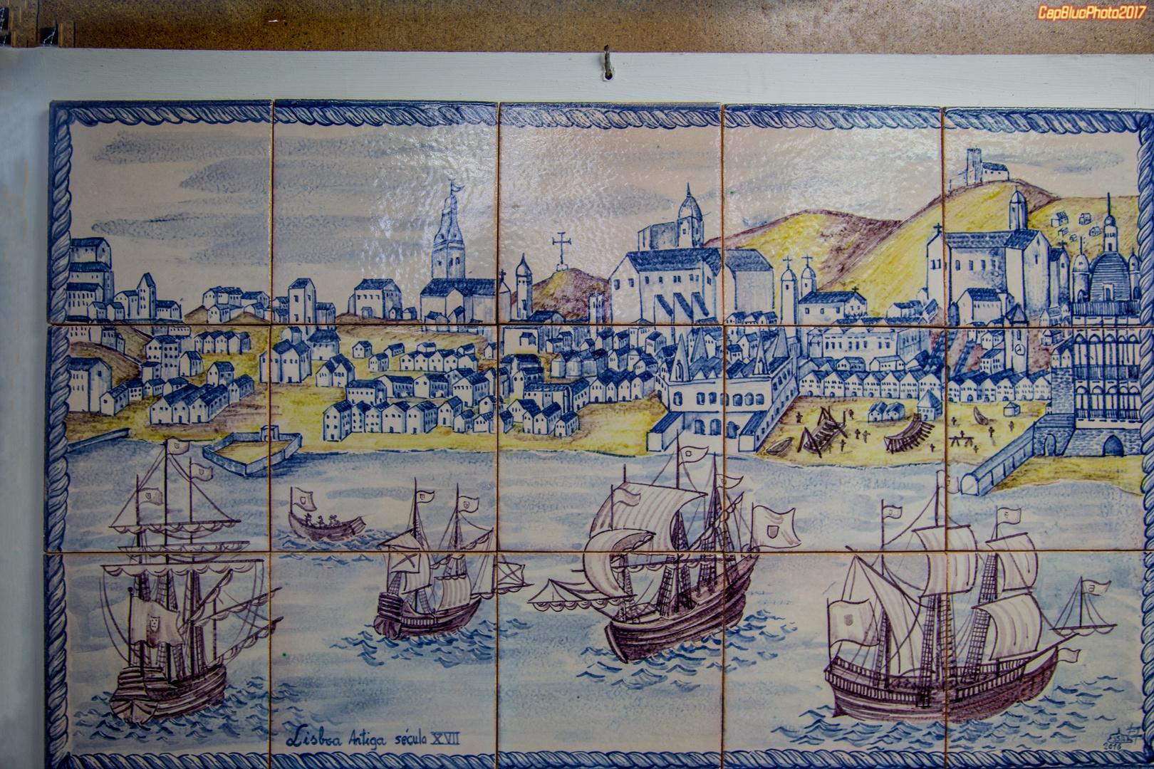 Azulejos de azeitao lisboa im 17 jahrhundert foto bild for Azulejos europa 9 telefono