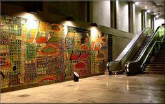Azulejos della Stazione dell`Oriente.