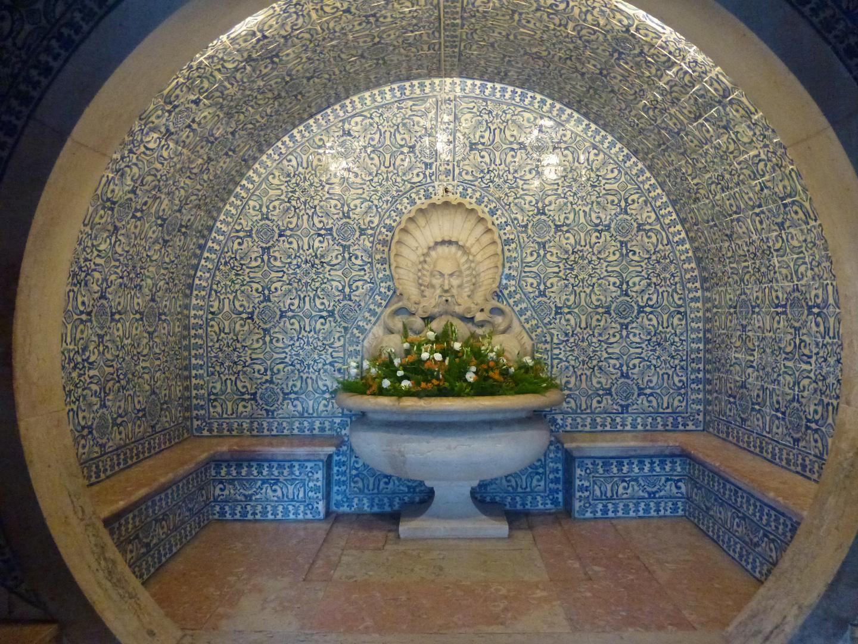 Azulejos im Palacio de Fronteira, Monsanto, Lisboa