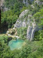 Azurblaue Lagune