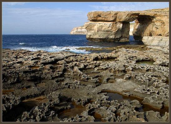 Azure Window auf der Insel Gozo