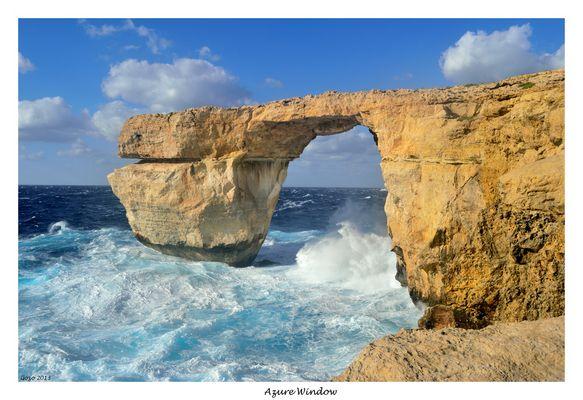 Azure Window / Das Blaue Fenster / Gozo