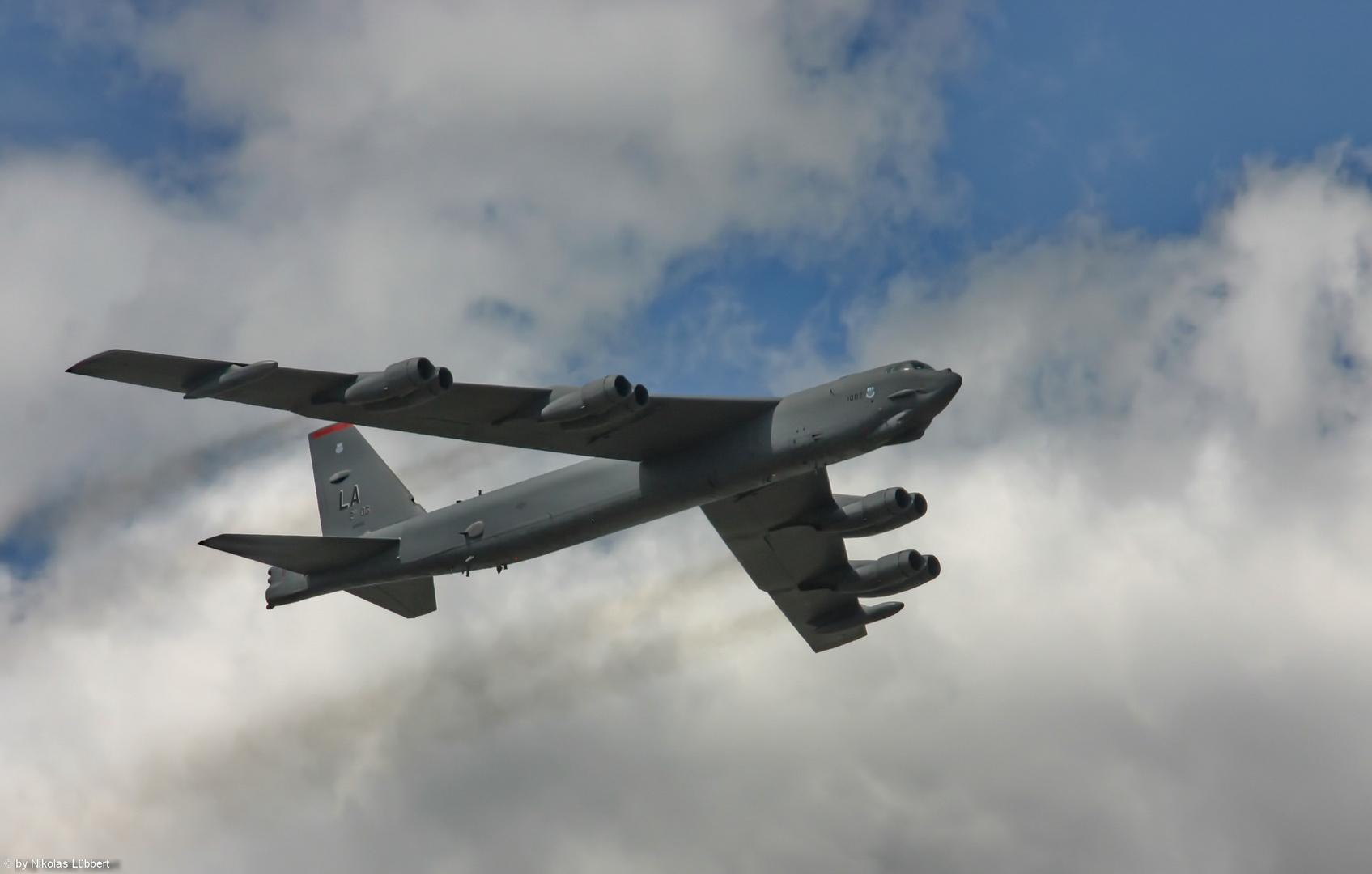 B-52 at Farnborough-Airshow