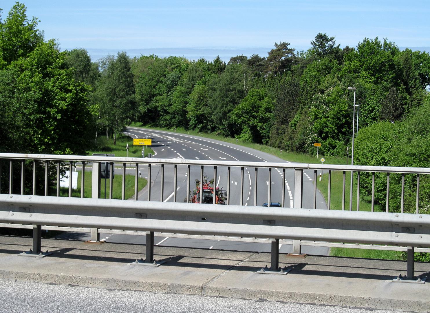 B 73 Richtung Cuxhaven