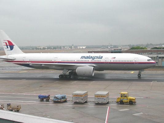 B 777 Malaysia