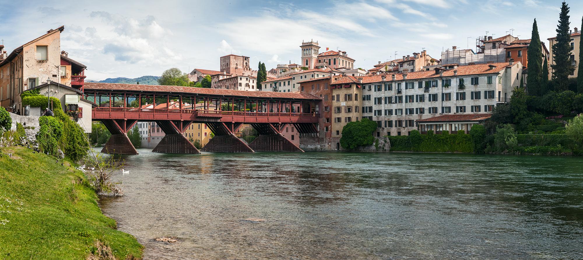 B a s s a n o  mit Ponte Vecchio