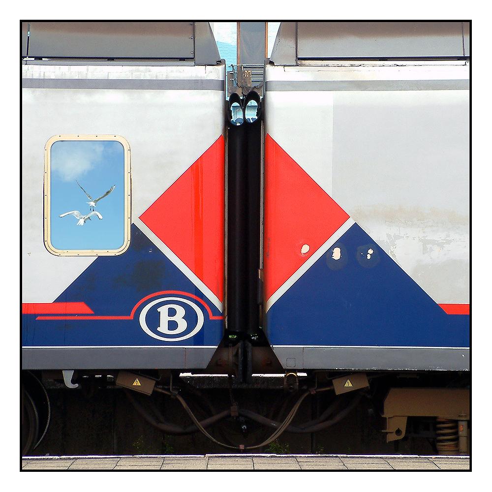 B - wie Blankenberge (Belgien)