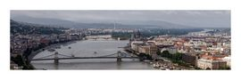 Budapest - vue prise de la citadelle von jonquille80