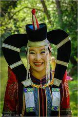 Baadma - Sängerin aus der Mongolei