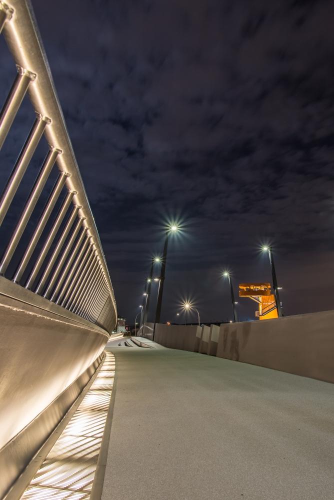 Baakenhafenbrücke - die etwas andere Brücke