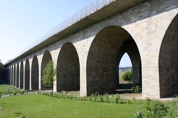 BAB A9 Brücke Holledau