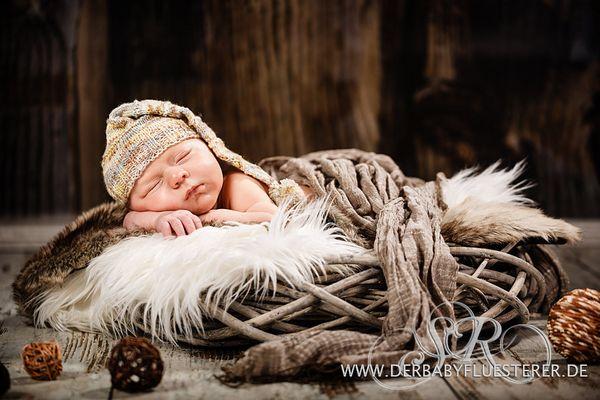 Baby Alexander, 4 Wochen
